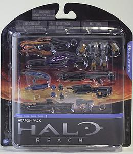 Halo Reach 6 Inch Series 5: Weapons Pack
