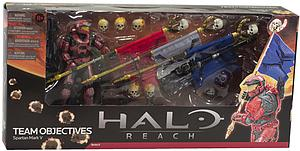 Halo Reach 6 Inch Series 6 Two-Pack: Team Objectives Spartan Mark V