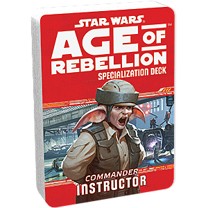 Star Wars: Age of Rebellion - Commander Instructor
