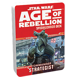 Star Wars: Age of Rebellion - Commander Strategist
