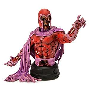 Marvel Villain Zombies: Zombie Magneto Mini Bust