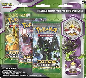 Pokemon Trading Card Game: Mega Alakazam 3-Packs Blister with Collector's Pin