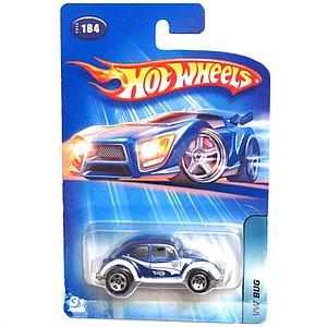 Hot Wheels Die-Cast: VW Bug Blue (184)