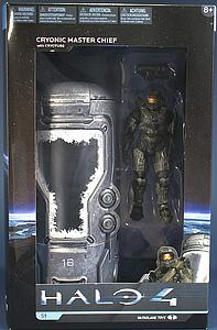 Halo 4 Series 1 Box Set: Cryonic Master Chief with Cryotube