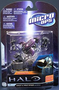 Halo Micro Ops 15mm Scale Series 1: Ghost vs. Wolf Spider turret