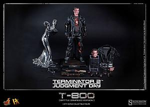 Terminator 2: Judgement Day (1991) 1/6 Scale Figure T-800 DX13 (Battle Damaged)