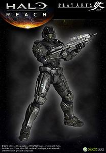 "Halo Reach Play Arts Kai 8"": Noble Six"