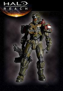 "Halo Reach Play Arts Kai 8"": Jorge"