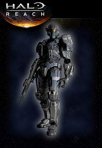 "Halo Reach Play Arts Kai 8"": Carter"