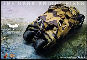 The Dark Knight Rises 29 Inch Vehicle Batmobile - Tumbler (Camouflage Version)