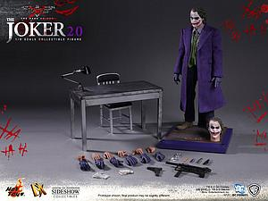 "The Dark Knight 12"" 1/6 Scale Figure: Joker 2.0"