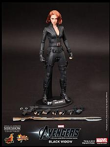 Marvel The Avengers (2012) 1/6 Scale Figure Black Widow