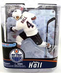 NHL Sportspicks Series 28 Taylor Hall (Edmonton Oilers) White Jersey Collector Level Silver