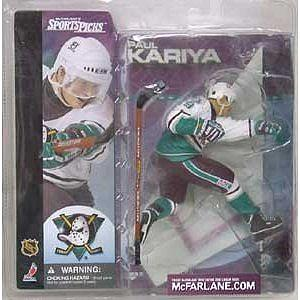NHL Sportspicks Series 1 Paul Kariya (Anaheim Ducks) White Jersey Chase