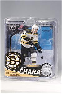 NHL Sportspicks Series 31 Zdeno Chara (Boston Bruins) White Jersey Variant (Only 1000 Made)