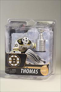 NHL Sportspicks Series 29 Tim Thomas (Boston Bruins) White Jersey Exclusive