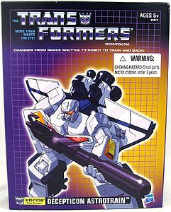Transformers G1 Commemorative Series 9 Deluxe Class: Astrotrain