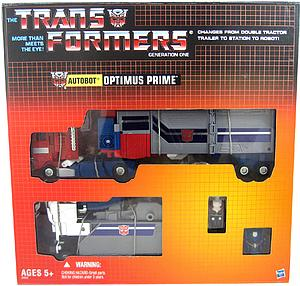 "Transformers G1 6"" Commemorative Series 2: Powermaster Optimus Prime w/ Apex Armor"