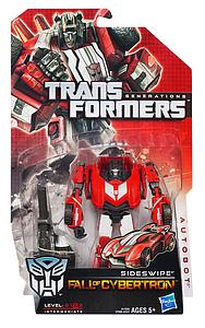 Transformers Generations Fall of Cybertron Deluxe Class: Sideswipe