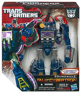 Transformers Generations Fall of Cybertron Voyager Class: Soundwave
