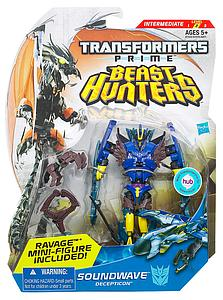 Transformers Prime Beast Hunters Deluxe Class: Soundwave