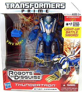 Transformers Prime Voyager Class: Thundertron