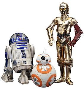 ArtFX+ Statues: C-3PO & R2-D2 with BB-8