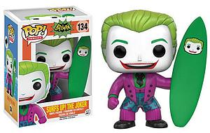 Pop! Heroes 1960's Batman TV Series Vinyl Figure Surf Joker #134 (Vaulted)