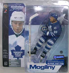separation shoes 8f6c6 1f361 NHL Sportspicks Series 3 Alexander Mogilny (Toronto Maple Leafs) Blue  Jersey Variant