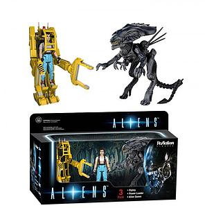 ReAction Figures Aliens Movie Series 3-Pack (Retired)