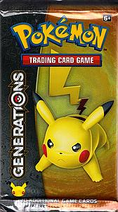 Pokemon Trading Card Game: Generations Booster Pack