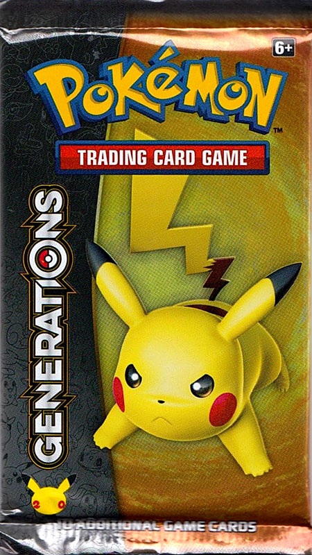 Pokemon Trading Card Game: Generations Booster Pack | www ...