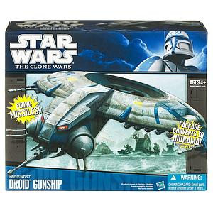 Star Wars The Clone Wars Vehicles: Separatist Droid Gunship (Canadian Packaging)