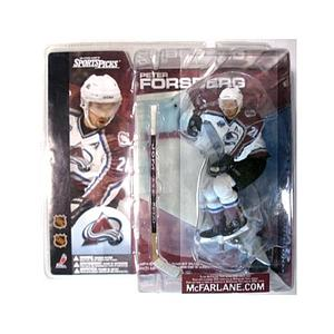 NHL Sportspicks Series 1 Peter Forsberg (Colorado Avalanche) White Jersey