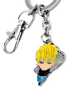 One Punch Man Keychain Character Genos (Flying Punch)