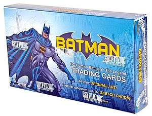 Cryptozoic Batman The Legend Trading Cards Sealed Box