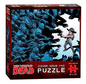 Puzzle: The Walking Dead Cover Issue #50