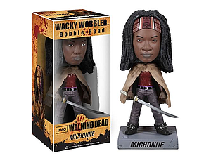 Wacky Wobblers The Walking Dead TV Series Bobbleheads Michonne