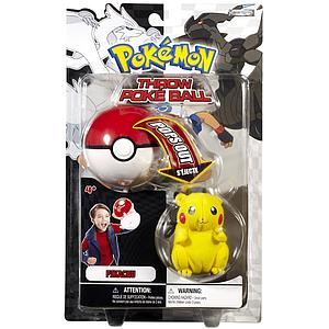 Pokemon Black & White Throw Poke Ball (Pops Out) Series 1 - Pikachu