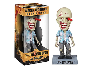 Wacky Wobblers The Walking Dead TV Series Bobbleheads RV Walker Zombie (Vaulted)