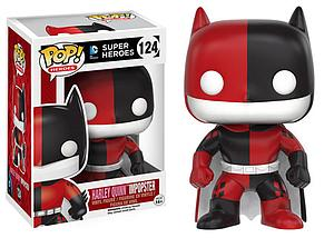 Pop! Heroes DC Impopster Vinyl Figure Batman as Harley Quinn #124
