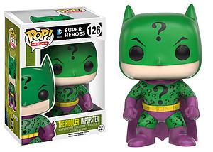 Pop! Heroes DC Vinyl Figure The Riddler Impopster #126 (Retired)