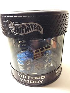 Hot Wheels Wagon Wheels Series Cars Die-Cast: '48 Ford Woody