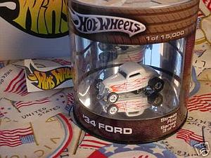 Hot Wheels Street Rod Series Cars Die-Cast: '34 Ford