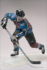 NHL Sportspicks Series 3 Joe Sakic (Colorado Avalanche) Maroon Jersey