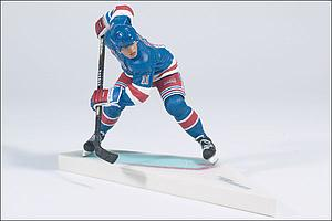 NHL Sportspicks Series 3 Mark Messier (New York Rangers) Blue Jersey