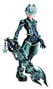 Square Enix Kingdom Hearts 3D Play Arts Kai: Riku (Tron)