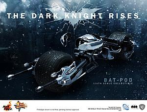 DC The Dark Knight Rises (2012) 1/6 Scale Bat-Pod
