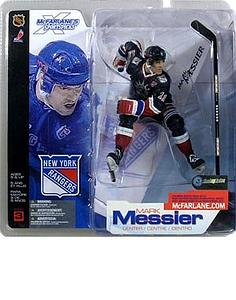 NHL Sportspicks Series 3 Mark Messier (New York Rangers) Dark Blue Variant
