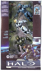 "Halo Legends 5"" 3-Pack Series The Package Box Set"